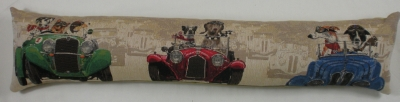 Wacky Races Belgian Tapestry Draught Excluder